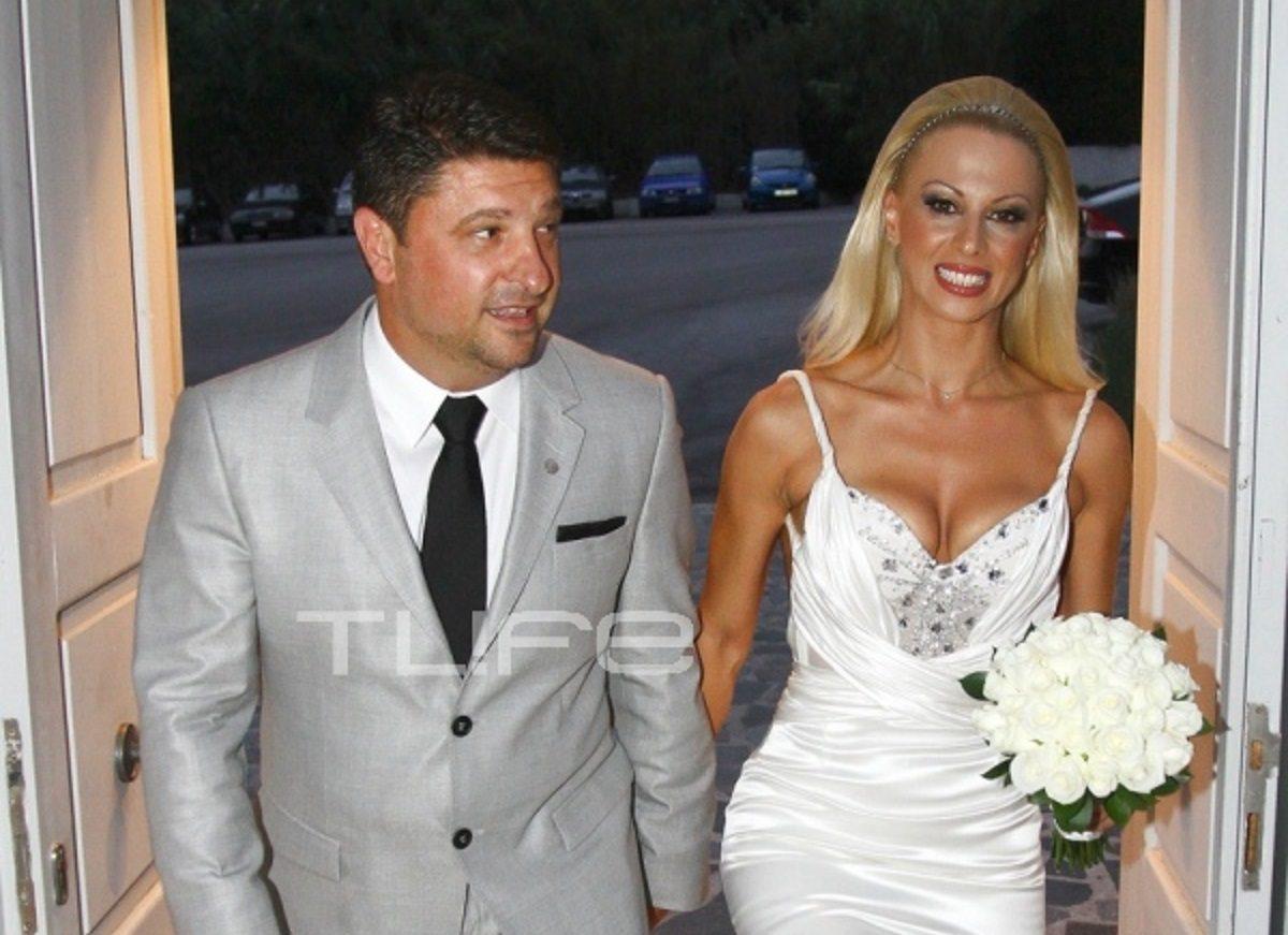 Νίκος Χαρδαλιάς: Οι φωτογραφίες του γάμου του με την όμορφη γυμνάστρια