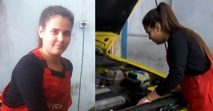 Ιωάννα Κόδρα: Η 13χρονη Ελληνίδα μαθήτρια που «λύνει και δένει» αυτοκίνητα καλύτερα και από έμπειρο μηχανικό