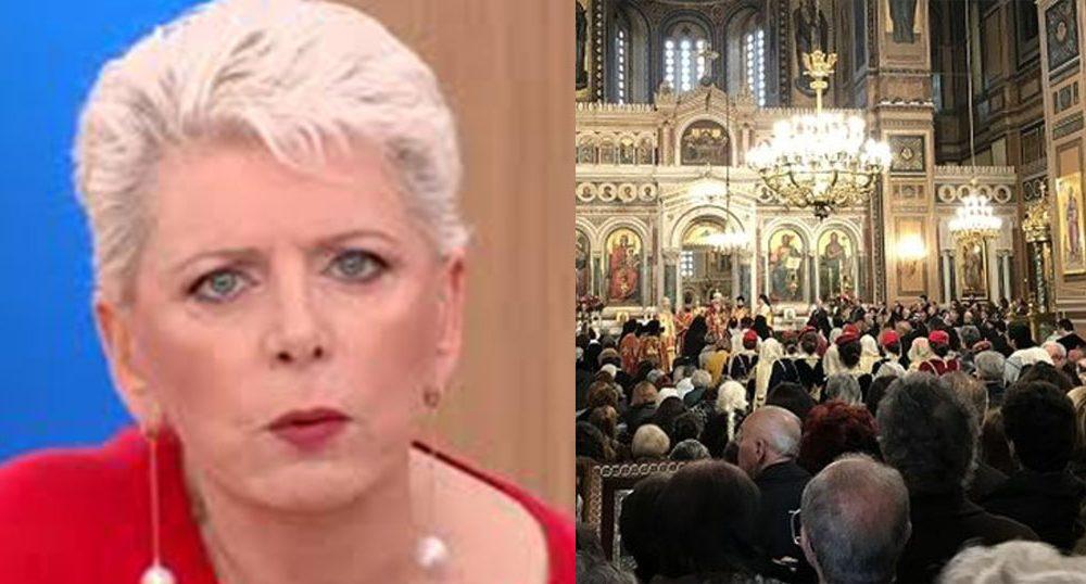 Aκρίτα: Ελπίζω τα 150άρια πρόστιμα να τα ξεκινήσουν από τον παπά και τους πιστούς που κλειδαμπαρώθηκαν στην εκκλησία