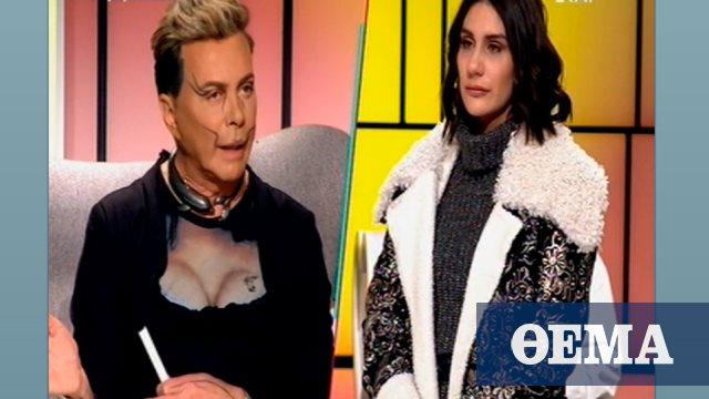 My Style Rocks: Με ντεκολτέ και... γυναικείο μπούστο εμφανίστηκε ο Λάκης Γαβαλάς