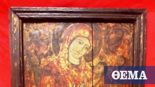 Θεσσαλονίκη: Προσπάθησε να πουλήσει εικόνα της Παναγίας για 100.000 ευρώ