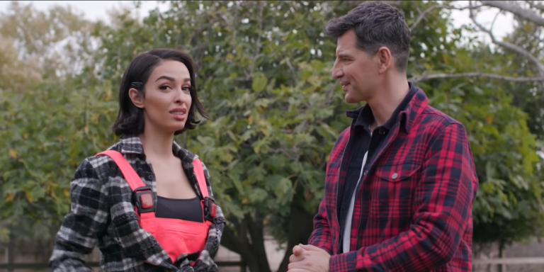 Ελένη Φουρέιρα: Ο Σάκης Ρουβάς την έβαλε να αρμέξει προβατίνα [βίντεο]