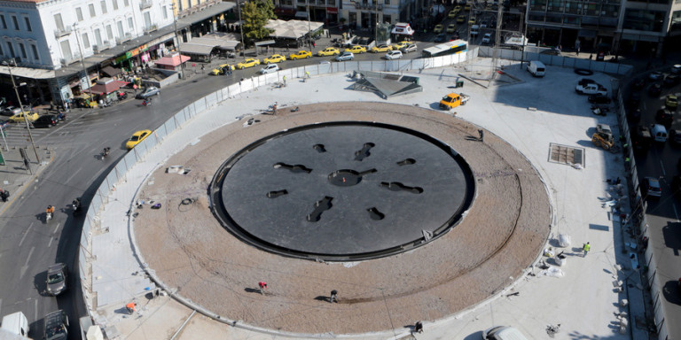 Αυτή είναι η νέα πλατεία Ομονοίας -Δείτε το νέο σιντριβάνι, πανοραμικές φωτογραφίες