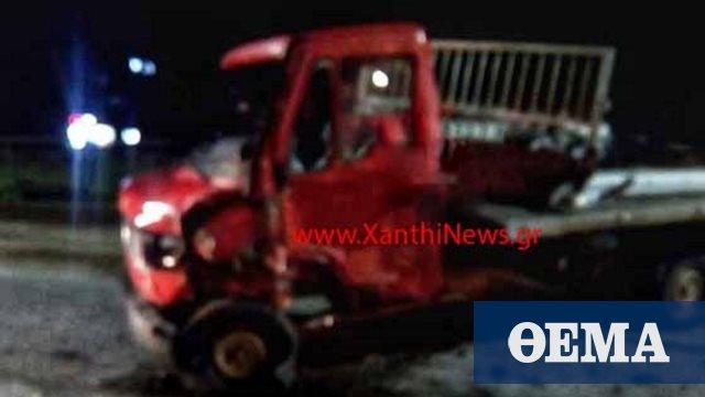Τραγικό τροχαίο στην Ξάνθη: Σκοτώθηκαν δύο νεαρά αδέρφια