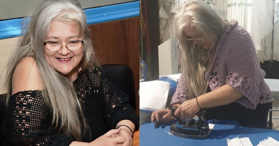 Σοφία Μαύρου: Η Ελληνίδα μοδίστρα που φτιάχνει υφασμάτινες μάσκες και τις χαρίζει δωρεάν σε όσους έχουν ανάγκη
