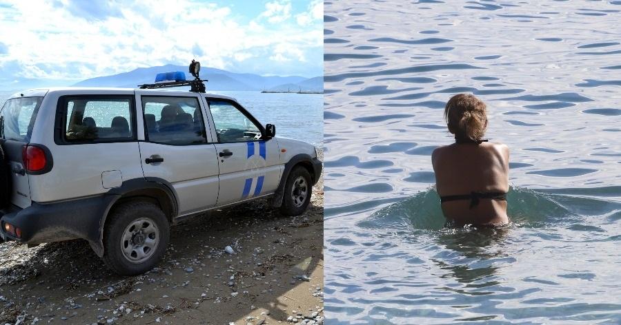 Κρήτη: Την έβγαλαν άρον άρον από τη θάλασσα και της έκοψαν πρόστιμο 150€